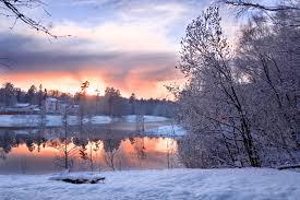 il lago d'inverno......